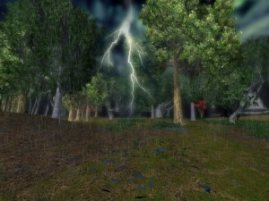 Lightning storm and AquaNew