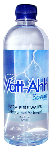 A gallon of WattAhh® -An AquaNew water